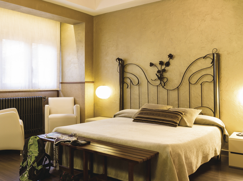 Habitación del hotel Els Caçadors Petits