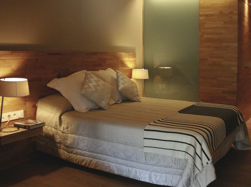 Habitació del hotel Les Planes del Grau