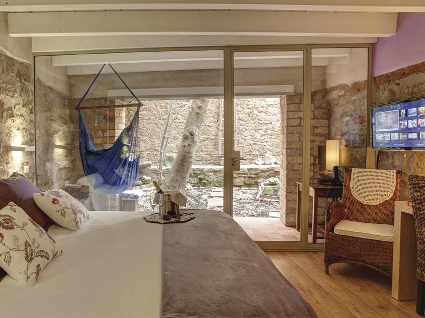 Habitació del hotel La Freixera