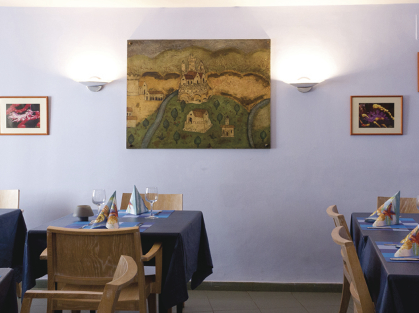 Comedor del hotel Es Furió
