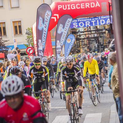Competició ciclista a  Puigcerdà