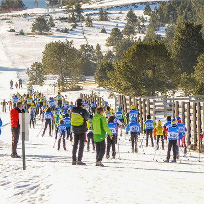 Ski de fons en Puigcerdà
