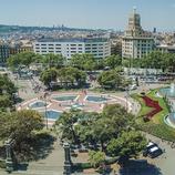 Plaça Catalunya a Barcelona