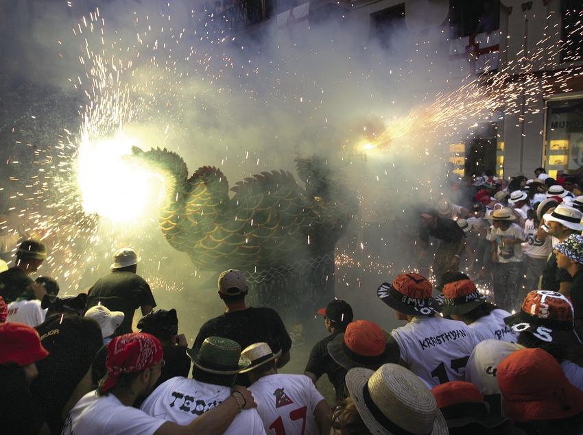 Correfoc en la Fiesta Mayor de Sitges  (Miguel Angel Alvarez)