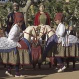 Baile de Caballitos, Gigantes y la Mulassa