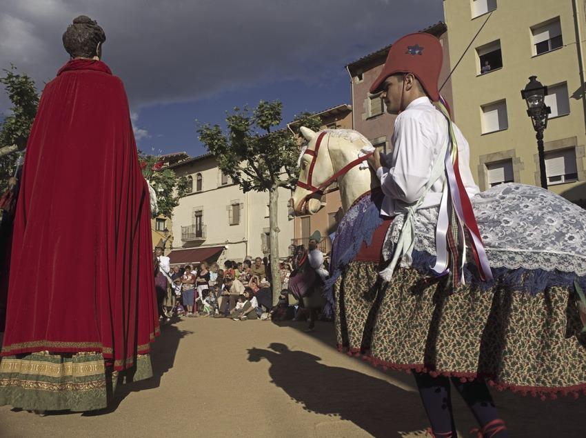 Ball dels cavallets durant la Festa Major  (Oriol Llauradó)