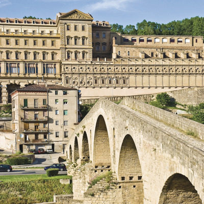 Pont Vell i Sant Ignasi de Manresa