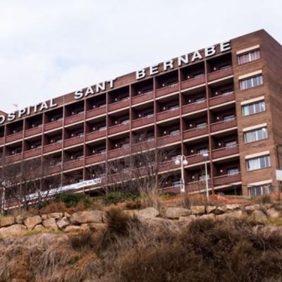 Hospital Sant Bernabé situado a la comarca del Berguedà
