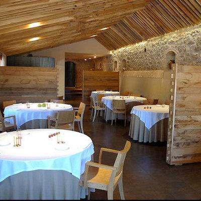 Interior del restaurant els Casals