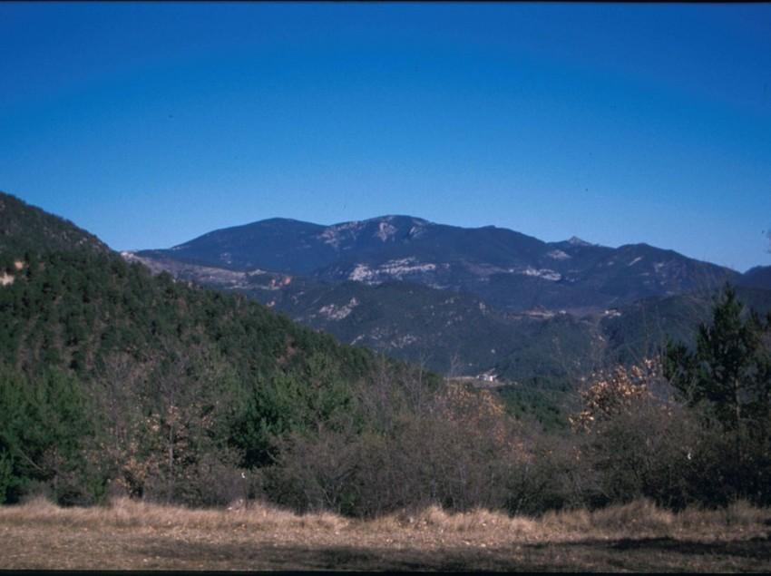 Serra d'Ensija-Rasos de Peguera