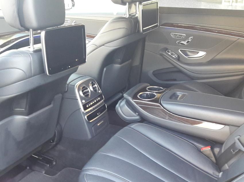 Interior d'un cotxe de luxe de Avant Grup