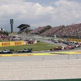 Carrera de Formula 1 al circuit Barcelona-Catalunya