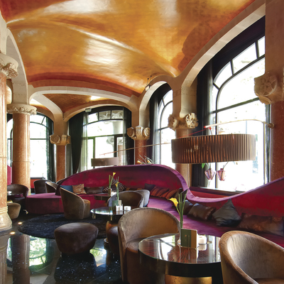 Café Vienés en el hotel Casa Fuster de Barcelona