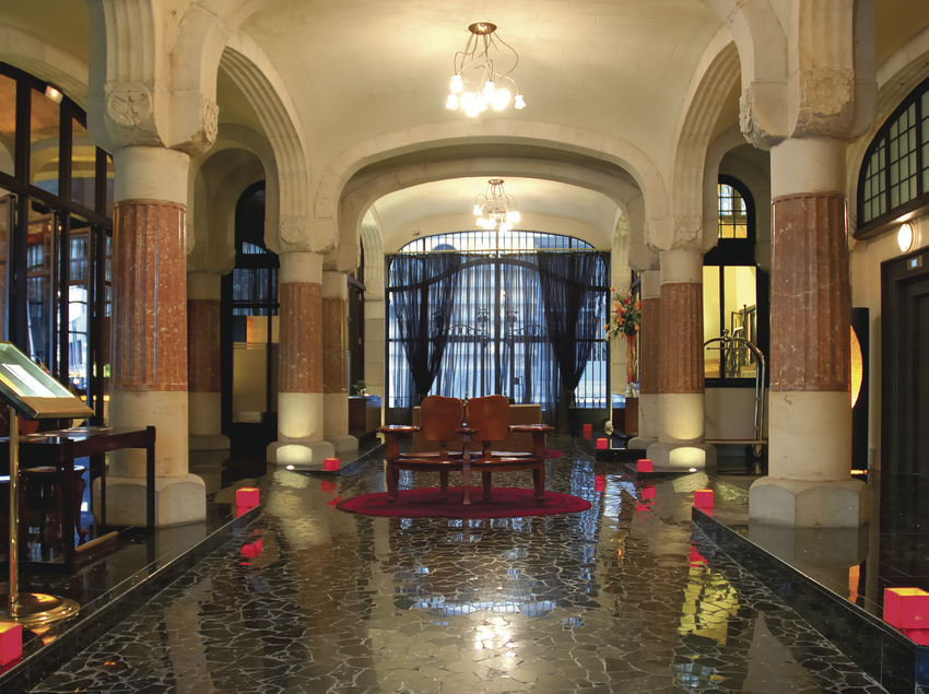 Lobby del hotel Casa Fuster