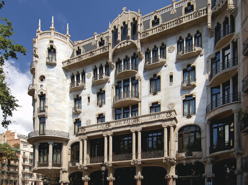 Façana principal -  Hotel Casa Fuster