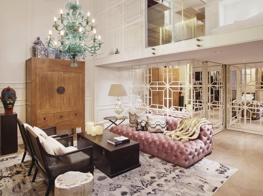 Habitación Grand Duplex Suite - Hotel Claris