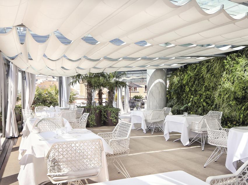 Terraza - Hotel Claris