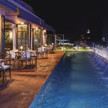 Restaurant a la terrassa del hotel Palace