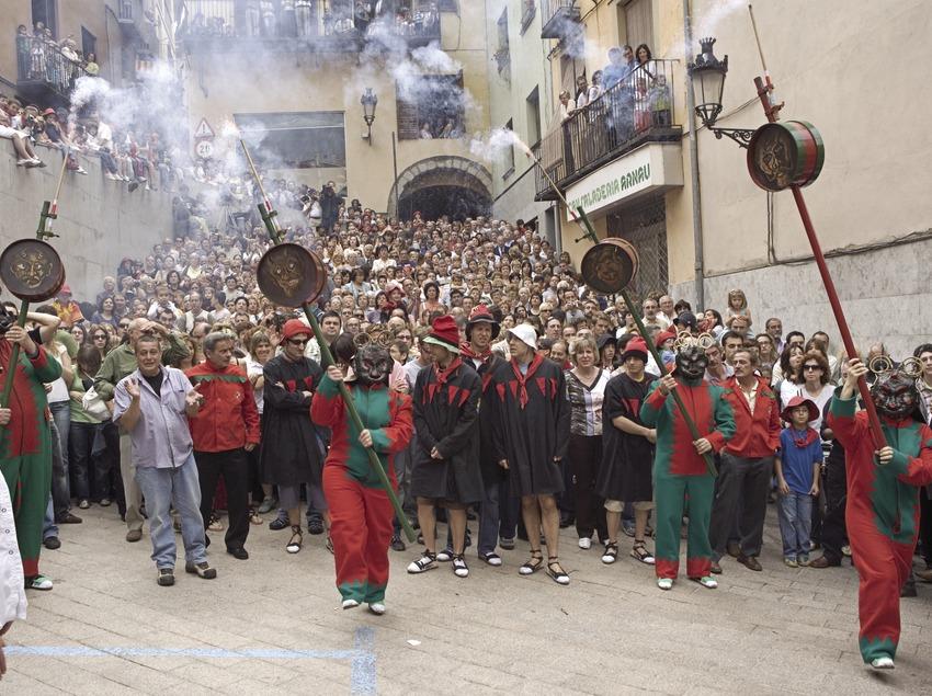 The Patum Les Masses  (Oriol Llauradó)