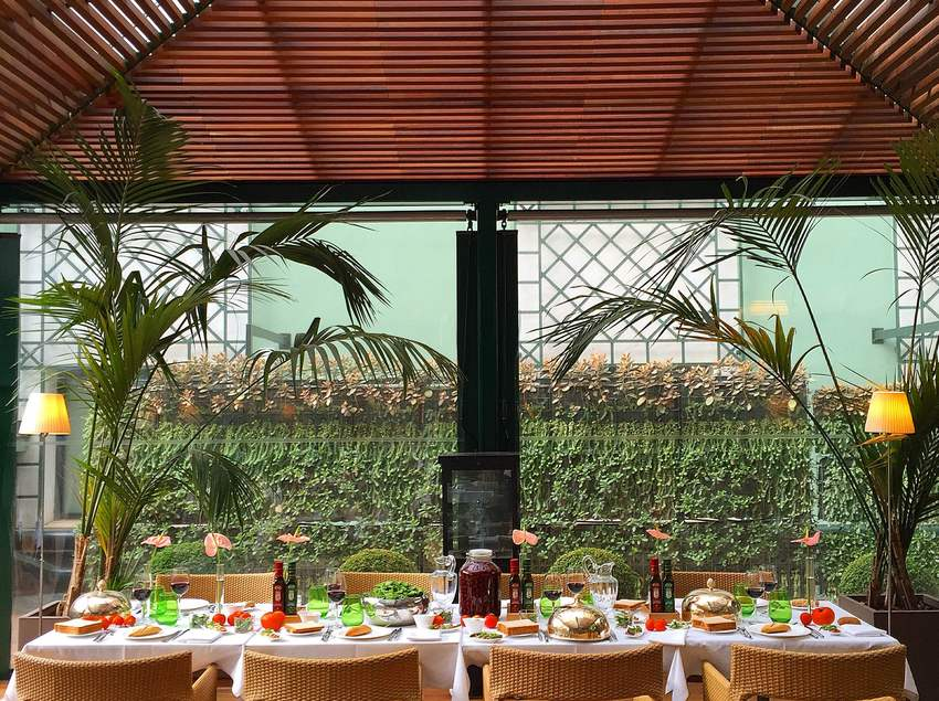 Restaurant de l'Hotel Majestic
