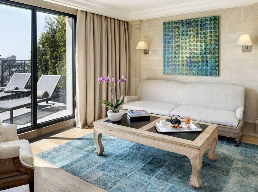 Habitació amb terrassa de l'Hotel Majestic