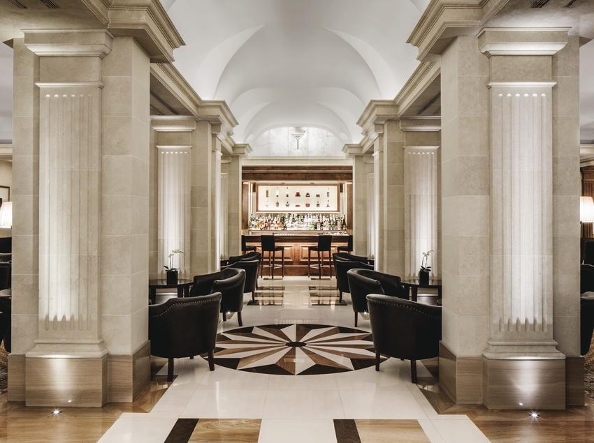 Bar de l'hotel Majestic
