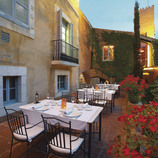 Terrassa de l'Hotel Mas La Boella