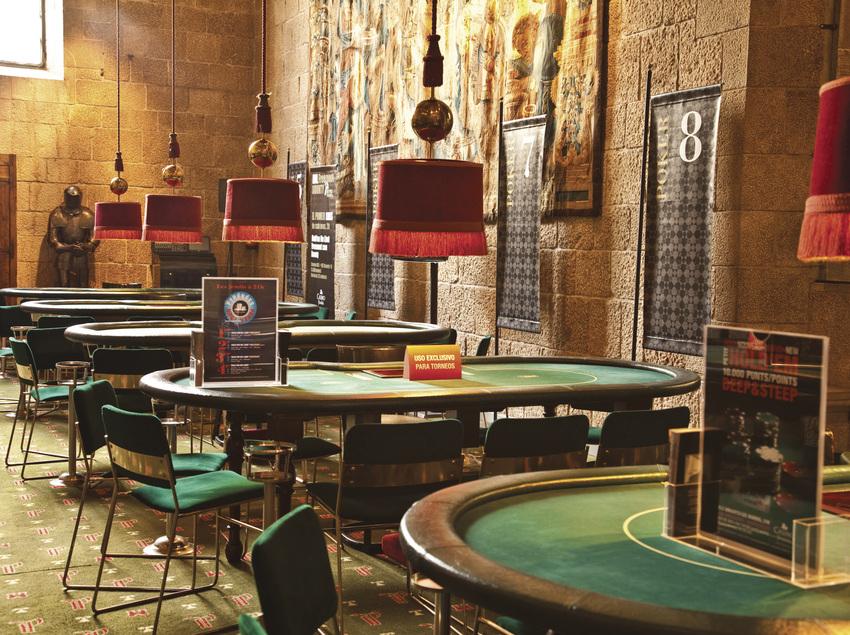 Sala de Poker del Casino Peralada