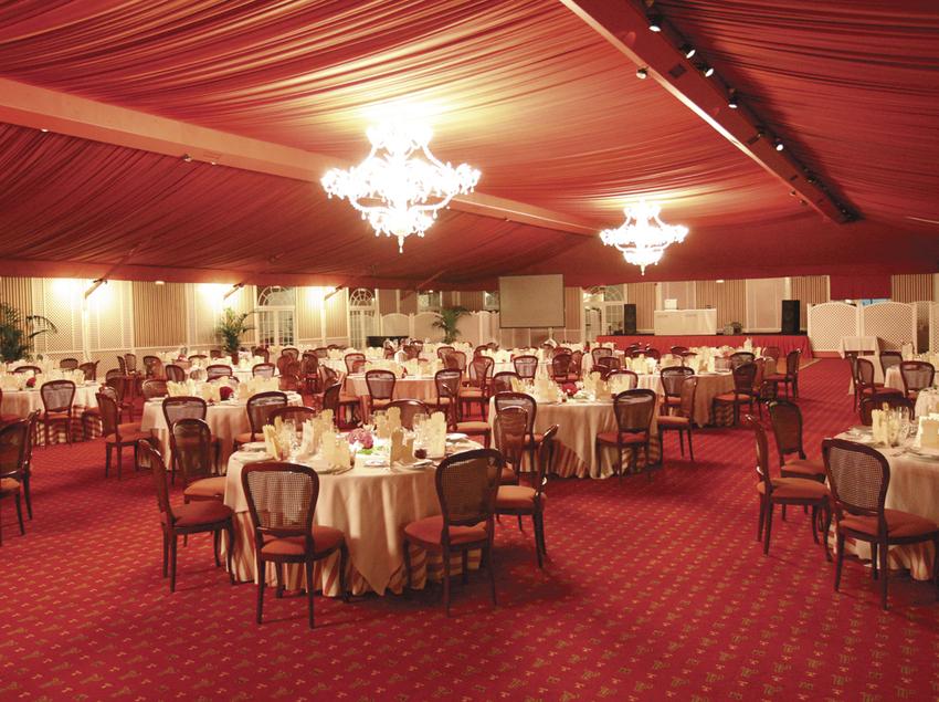 Pabellón para celebraciones - Hotel Peralada Wine Spa & Golf