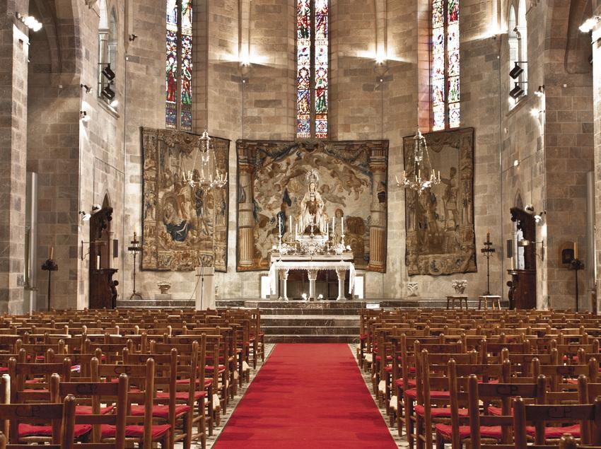 Iglesia del Carme del siglo XIV del Hotel Peralada Wine Spa & Golf