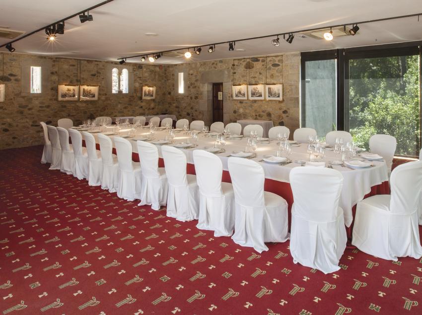 Comedor del Hotel Peralada Wine Spa & Golf