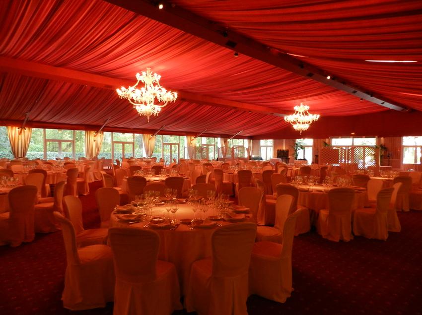 Pabellón del Hotel Peralada Wine Spa & Golf