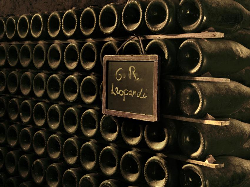 Ampolles de les Caves Llopart