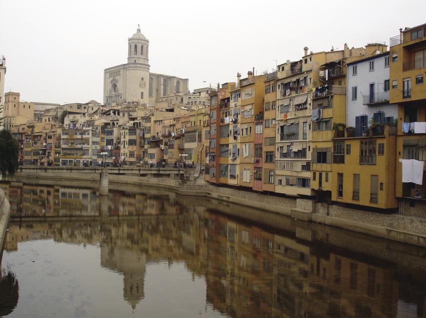 Vistas de la ciudad de Girona