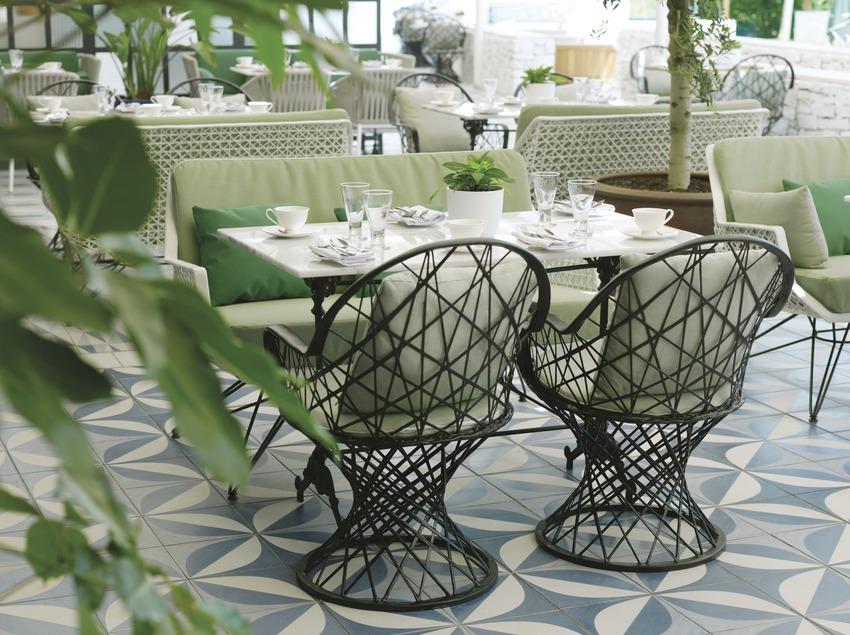 Terrassa del restaurant PGA Catalunya Resort