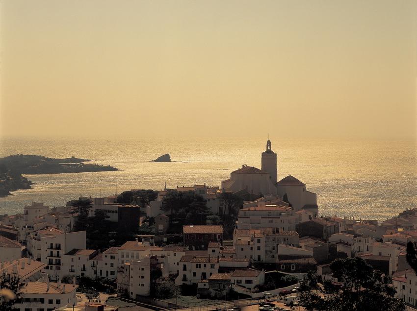 Morgengrauen in Cadaqués.