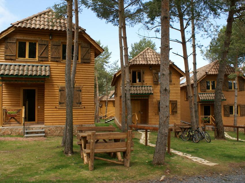 Chalet de madera en Prades