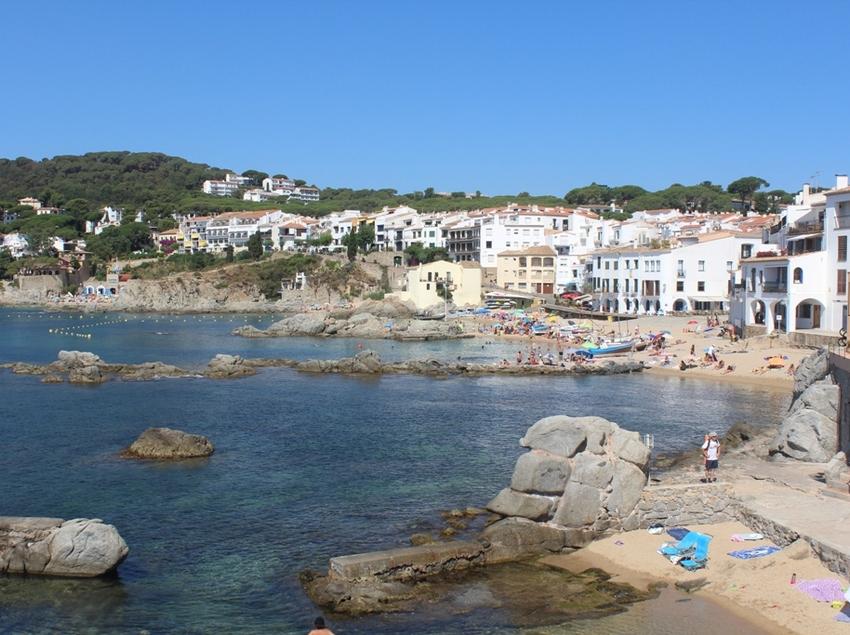 Platja de Port Bo, a Calella de Palafrugell