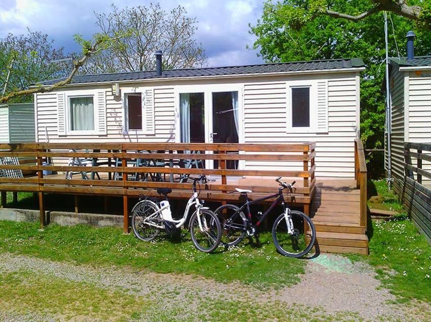 Mobil Home, camping Les Preses Natura