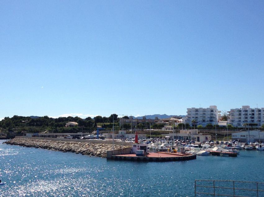 Vista panorámica del puerto de l'Ametlla de Mar