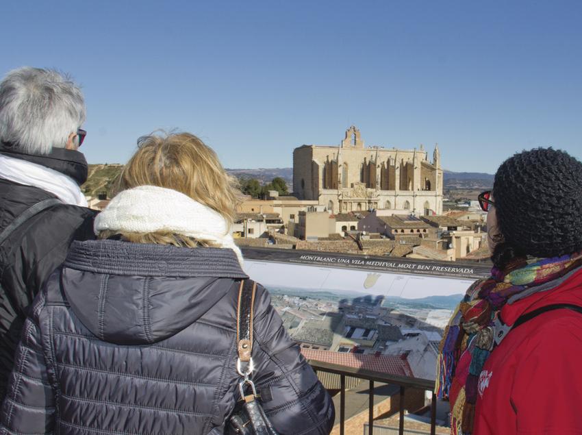 Visita a Montblanc, vila medieval.
