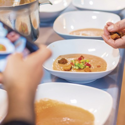Boqueria Market Visit + Paella Cooking Experience