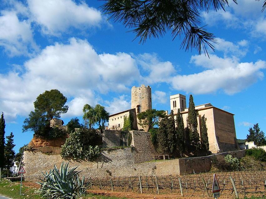 Castillo de Sota Ribes en Sant Pere de Ribes