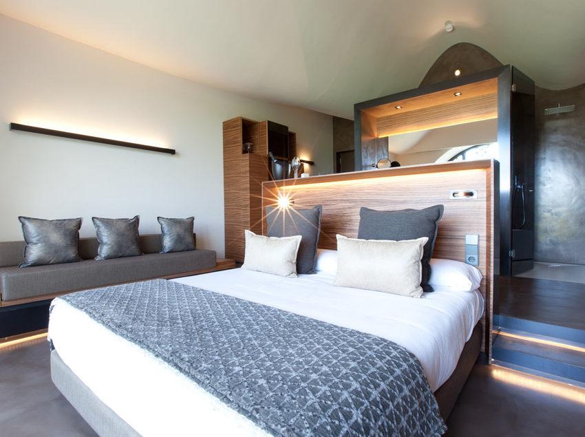 Habitació doble del Cava & Hotel Mastinell