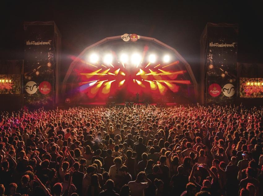 Escenario del Vida festival