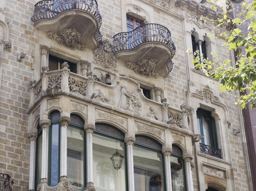 Casa Garriga Nogués, de Enric Sagnier.  (Nano Cañas)