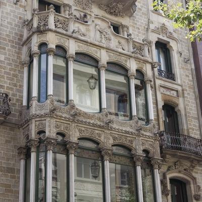 Casa Garriga Nogués, d'Enric Sagnier.  (Nano Cañas)