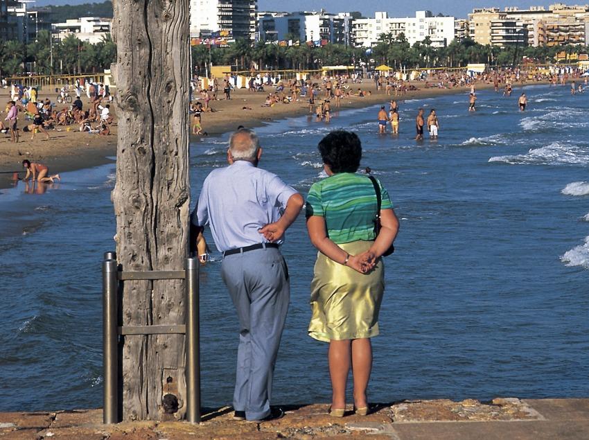 Strand des Ortes (Oriol Llauradó)