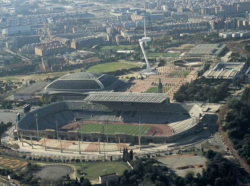 Estadi Olímpic Lluís Companys, Montjuïc. (Oriol Llauradó)