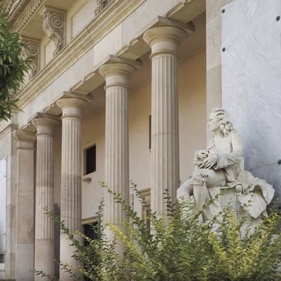 Fachada del Museo de Geología, de Antoni Rovira i Trias.  (Nano Cañas)